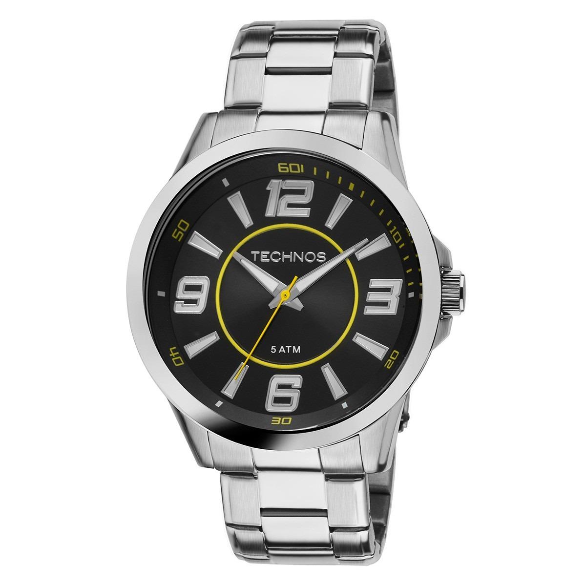 f58fe0f8e9e relógios masculinos technos aço inox 2036lnw1y original c nf. Carregando  zoom.