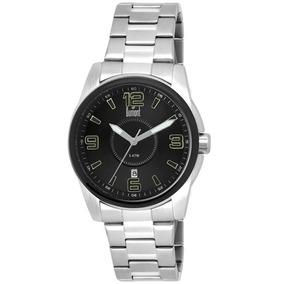 fc5d700e0c1 Relógio Dumont Mostrador Preto Números Verdes Diâmetro 4cm