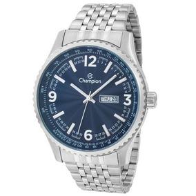 9e5ed54505500 Relógio Champion Masculino Ca31604f Original (nota Fiscal)