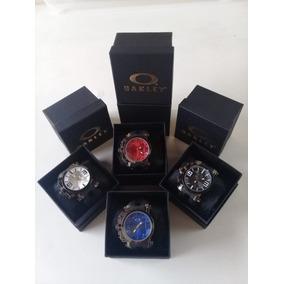 01ab431b89478 Kit Relogio Oakley Masculino - Relógios no Mercado Livre Brasil