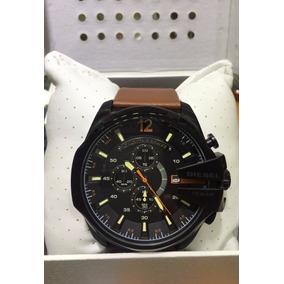 f1f44c8570a Relogio Diesel Dz4274 Pulseira Couro Caixa Em Aço 42x45mm - Relógios ...