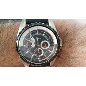 d4f0fff3c531 Timex T2m428 Lindo Relógio Preto E Laranja - Joias e Relógios no ...