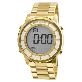 4229389dd47d9 Relogio Mormaii Dourado - Relógio Mormaii no Mercado Livre Brasil