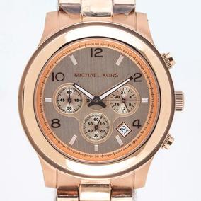 0f153b9ca5a3c Relógio Michael Kors Mk5163 Rose Gold Original Oversize Novo