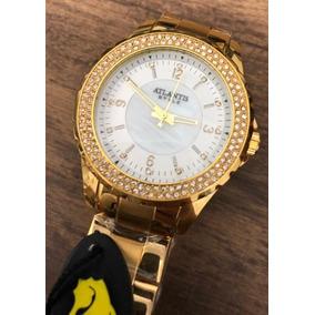6039f3df527 Relógio Atlantis Style Clássico Dourado - Relógios De Pulso no ...