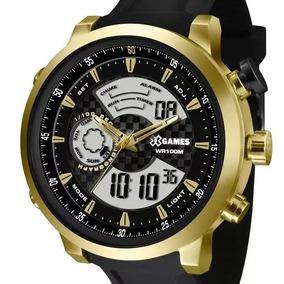 816ed9b61c5 Relogio X Games Preto E Dourado - Relógios no Mercado Livre Brasil