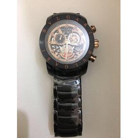477e3bdd6c3 Replica Do Relogio Bvlgari Eskeleton - Relógios no Mercado Livre Brasil