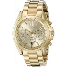 fc36e4afb0e7f Relógio Michael Kors Mk5605 Ouro Dourado