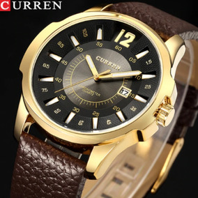 bdd0d3daf Relógio Masculino Social Luxo Curren - Relógios De Pulso no Mercado ...
