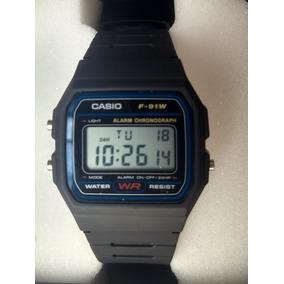 f41e60582 Casio F91w Prata - Relógios no Mercado Livre Brasil