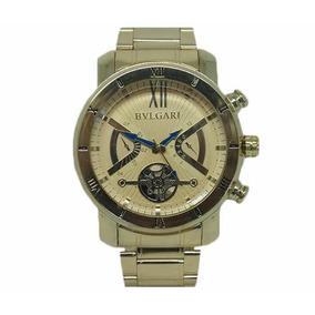 0c7cab45025 Relogio Bvlgari Dourado Luxo Masculino - Relógio Bvlgari Masculino ...