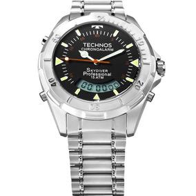 84dbe539ec2 Pulseira Original De Aco Technos Skydiver - Relógios no Mercado ...