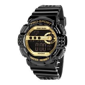 0d950bc67bf8d Relogio Mormaii Masculino Dourado - Relógio Mormaii Masculino no ...