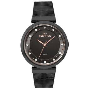 405f819837c69 Relogio Feminino Preto Com Swarovski - Relógios De Pulso no Mercado ...