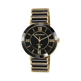 f45bef1e77e Relogio Technos Ceramic Sapphire Feminino - Relógios De Pulso no ...