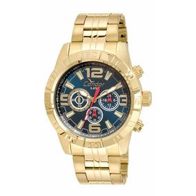 d9a3d4ef034 Relogio Condor Civic Dourado - Relógios De Pulso no Mercado Livre Brasil