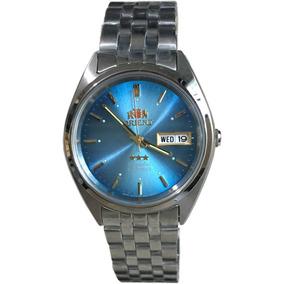 d7a2d3e4e2186 Relogio Orient Automatico Masculino Azul Original C  Caixa R