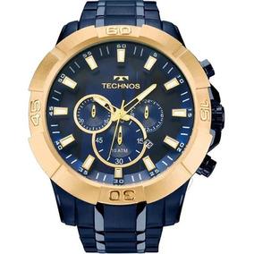 3019a8e6723 Relogio Technos Legacy Dourado E Azul - Relógios De Pulso no Mercado ...