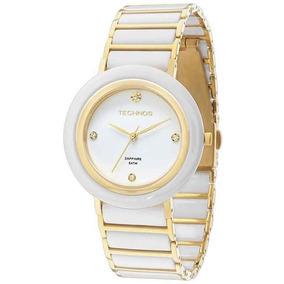 85b273b091b18 Relogio Technos Feminino Ceramica Branco - Relógios De Pulso no ...