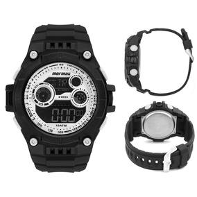 44ed63dc25f9a Relogio Mormaii Pulseira Branca - Relógios De Pulso no Mercado Livre ...