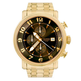 e92471d89b4 Relogio Technos Os10cr 4c Dourado - Relógio Technos Masculino no ...