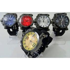 8e0c810408787 Relogios Baratos Masculinos - Relógio Oakley Masculino Borracha no ...