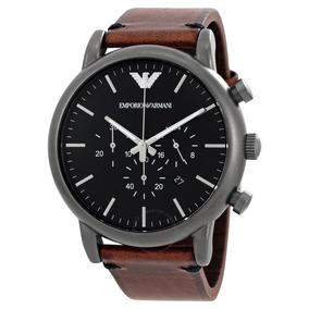 c64c65199a5 Relógio Everlast E124 Preto Inox Couro Caixa Novo - Relógio ...