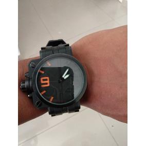 ddaf544b55be8 Relogio Oakley Gearbox Replica Masculino - Relógios De Pulso