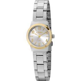 c77367f0679 Relogio Condor Prata Com Dourado Feminino - Relógios De Pulso no ...