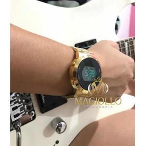 2c50c4212a7 Relogio Euro Digital Fashion - Relógios De Pulso no Mercado Livre Brasil