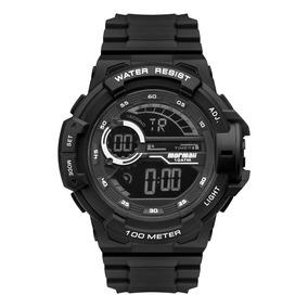 a8751f79fd7b4 8p Relogio Digital Mormaii Branco G 395ab - Relógios no Mercado ...