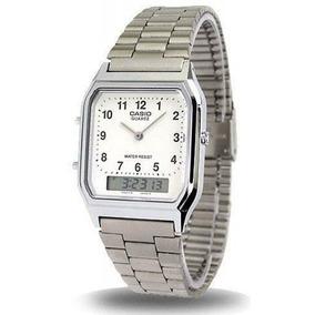 c4154749995ed Relógio Feminino Casio Analógico digital Social Aq-230a-7bmq