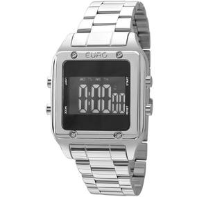 a7905d94f6105 Relogio Feminino Rose Quadrado Euro - Relógios De Pulso no Mercado ...