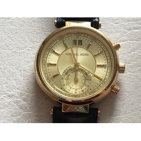 3f81e16fccc73 Relógio Michael Kors Cronógrafo Dourado Mk 5556 Novo - Relógios De ...