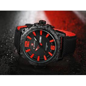 0a907357fe4 Pulseira De Nylon Para Relogio Naviforce - Relógio Masculino no ...