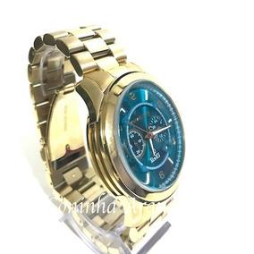 0a7bd678963ce Relogio Michael Kors Mk8315 Dourado Oversized Mundi - Relógios De ...