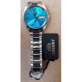 a0f6948629564 Relogio Orient Masculino Automatico Azul - Relógios no Mercado Livre ...