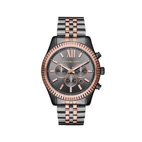 cfe779bcdc220 Relógio Michael Kors Mk8273 Marrom Masculino Sem Caixa - Relógios De ...