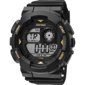 ec54f4c513391 8p Masculino Preto Relogio Digital Mormaii Yp8412 - Relógios no ...