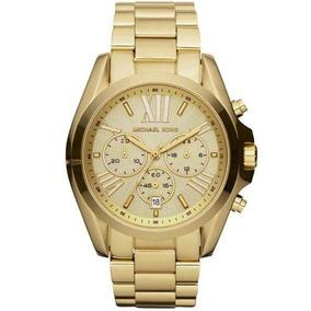f991267449115 Relogio Michael Kors Mk5169 Marrom E Dourado - Relógios De Pulso no ...