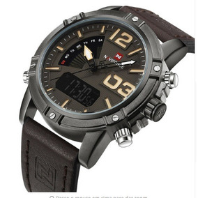 415b295f612 Relógios De Pulso Masculino Naviforce Quartzo - Digital 9095