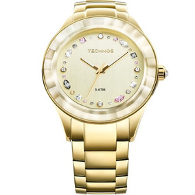 131d47c786a75 Relógio Technos Feminino Elegance Crystal 2036lms 4x