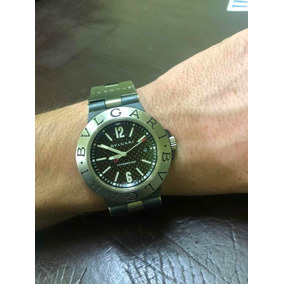 90ddc503025 Relogio Bvlgari Sd38s L2161d Suisse - Relógios no Mercado Livre Brasil