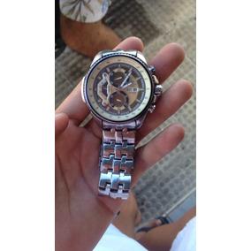 884873681ce2 Relogio Casio Edifice Dourado Masculino Automatico - Relógios De ...
