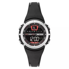 5df94bd29c564 Relogio Mormaii Digital Branco - Relógios De Pulso no Mercado Livre ...