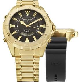 c63e48d463b94 4p Pulseira Relogio Technos Mw6166a - Relógios no Mercado Livre Brasil
