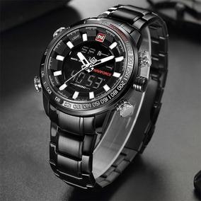 c08eb4efc44 Relógio Masculino Militar Esportivo Luxo Naviforce Original