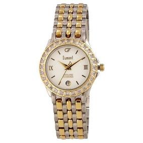 a43e007f3c30b Pequeno Relogio Feminino Retangular Prata E Dourado - Relógios no ...