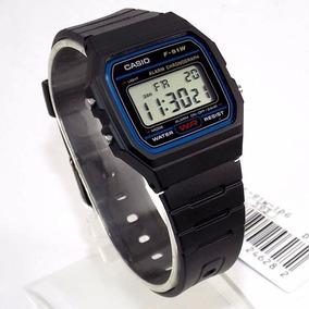 2a61b52c0 Relógio Casio Modelo F91w Retrô Novo - Relógios no Mercado Livre Brasil