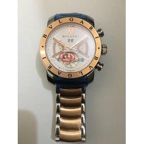 dac70a8d1ab Relogio Bulgari Iron Man Rose - Relógios De Pulso no Mercado Livre ...